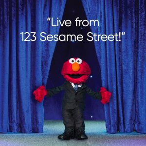 Elmo on The Not-Too-Late Show