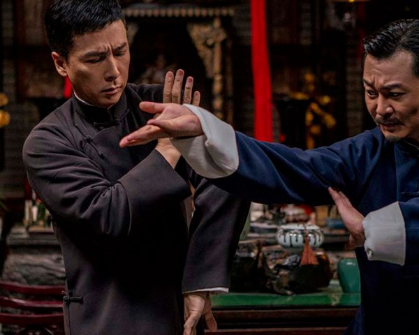 A still from IP Man 4: The Finale