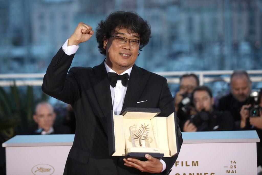 Bong Joon Ho Cannes Palme d'Or