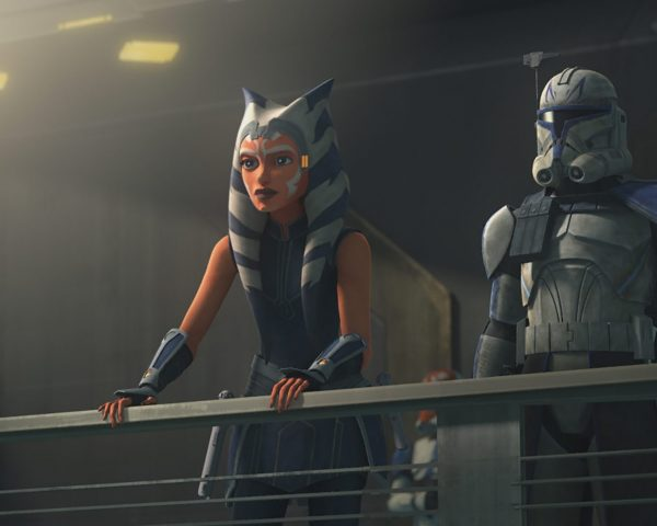 Star Wars Clone Wars Ahsoka Rex