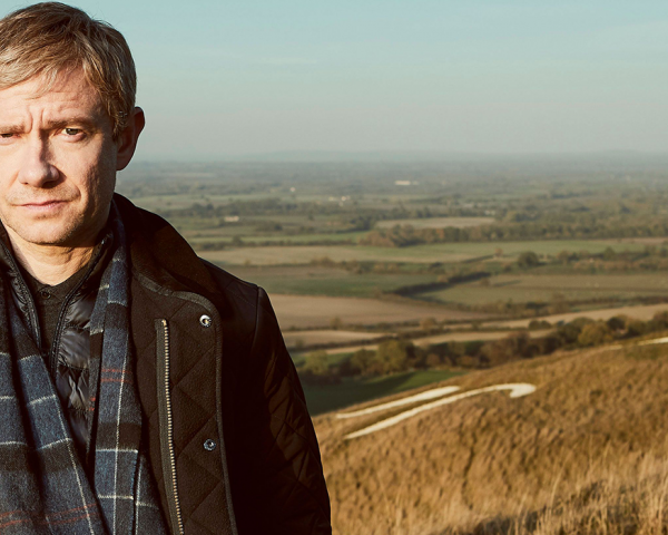Martin Freeman as Detective Steve Fulcher in A Confession