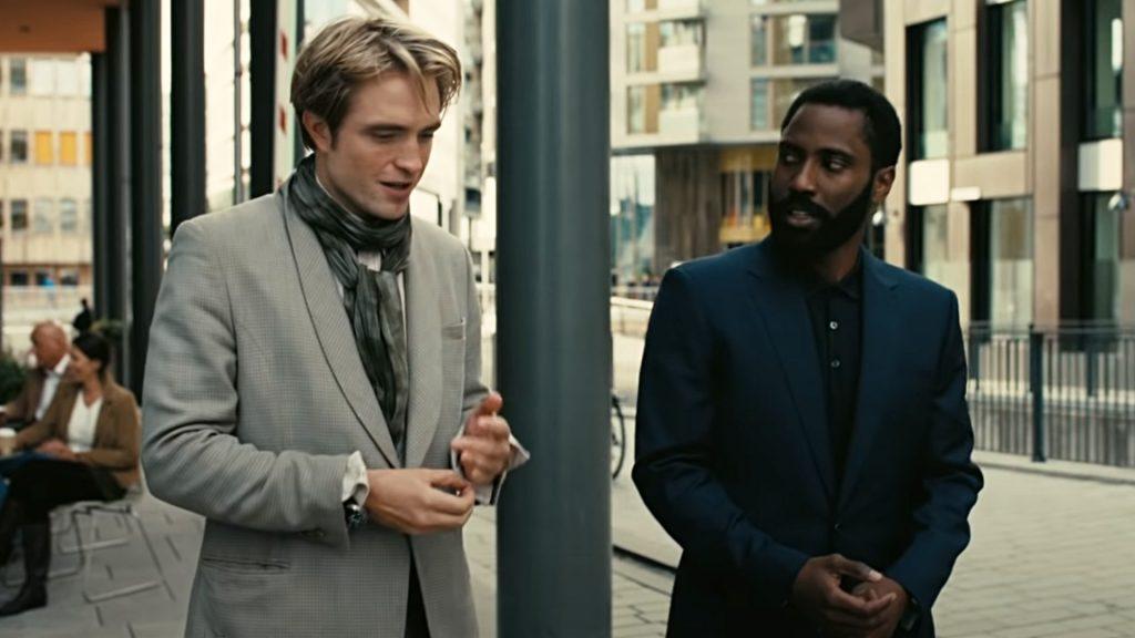 Robert Pattinson John David Washington Tenet