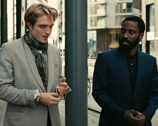 Robert Pattinson John David Washington Tenet