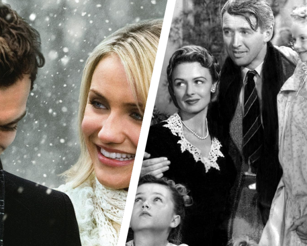 Love Actually, The Holiday, It's a Wonderful Life, Meet Me in St Louis