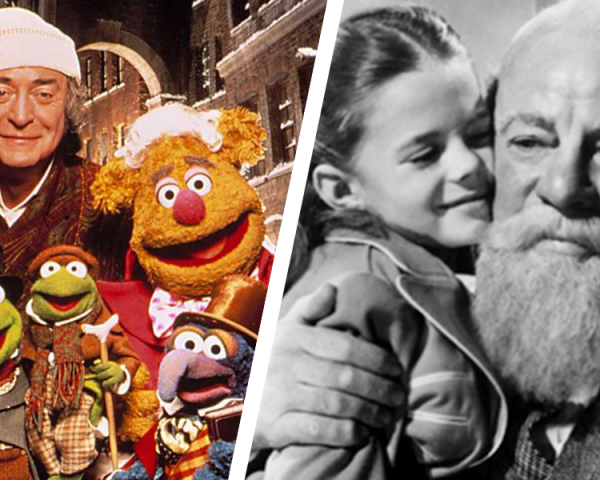 Mickey's Christmas Carol, Muppet Christmas Carol, Miracle on 34th Street, The Santa Clause