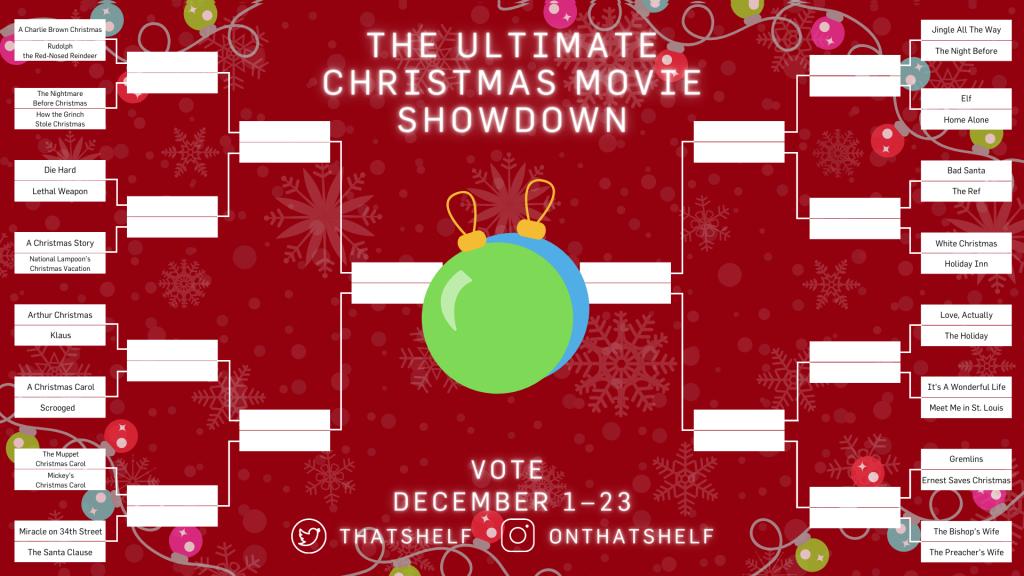 The Ultimate Christmas Movie Showdown Brackets