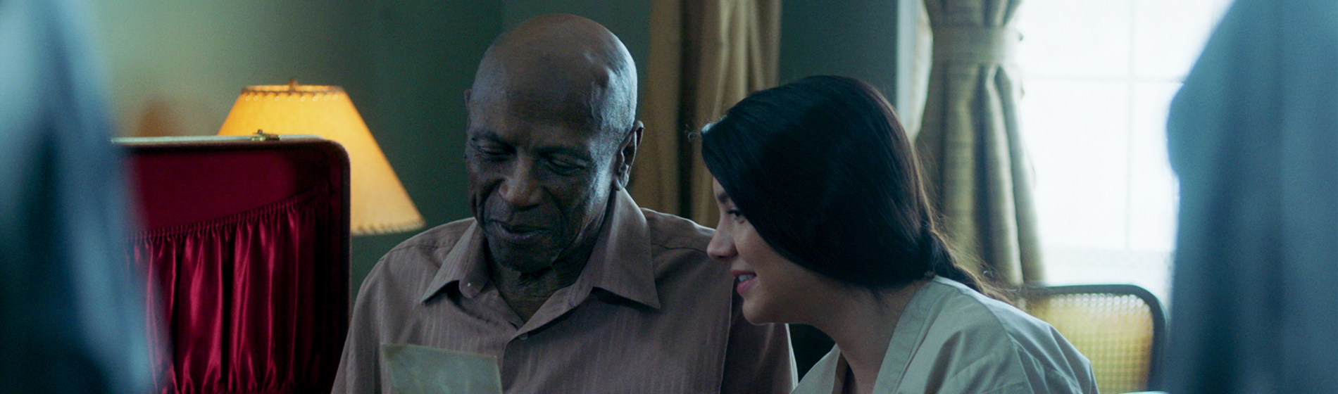 Louis Gossett Jr. and Ana Golja in The Cuban