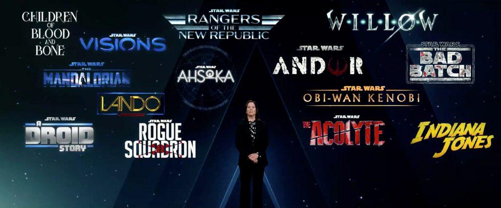Disney Star Wars TV Show Investor Announcement