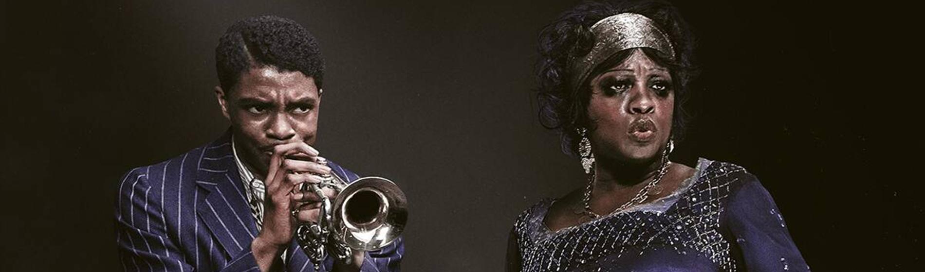 Chadwick Boseman, Viola Davis in Ma Rainey's Black Bottom