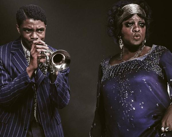 Chadwick Boseman, Viola Davis in Ma Rainey's Black Bottom
