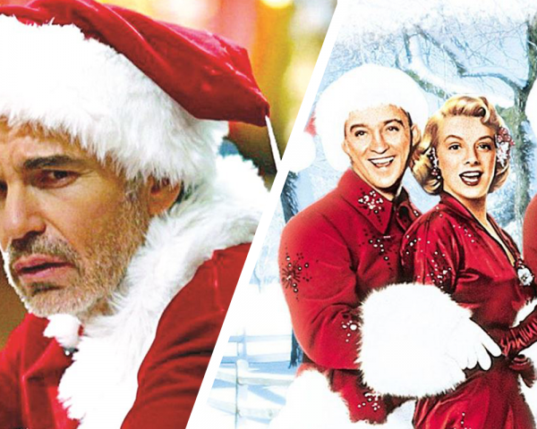 Bad Santa, White Christmas images