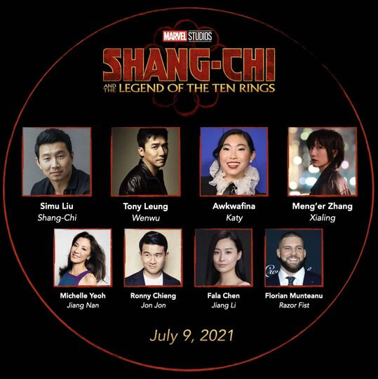 Shang-chi Cast