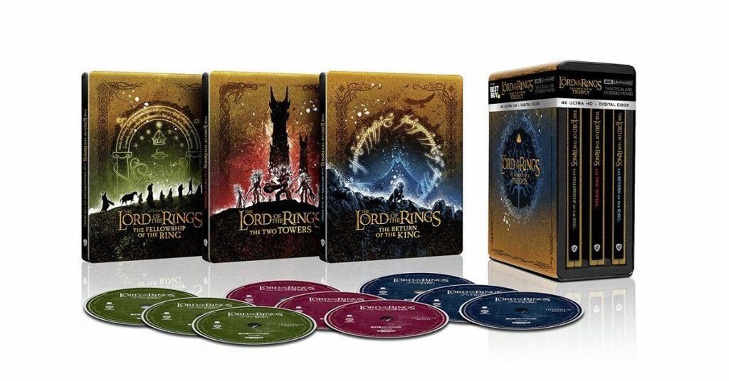 Lord of the Rings 4K UHD Blu-ray box