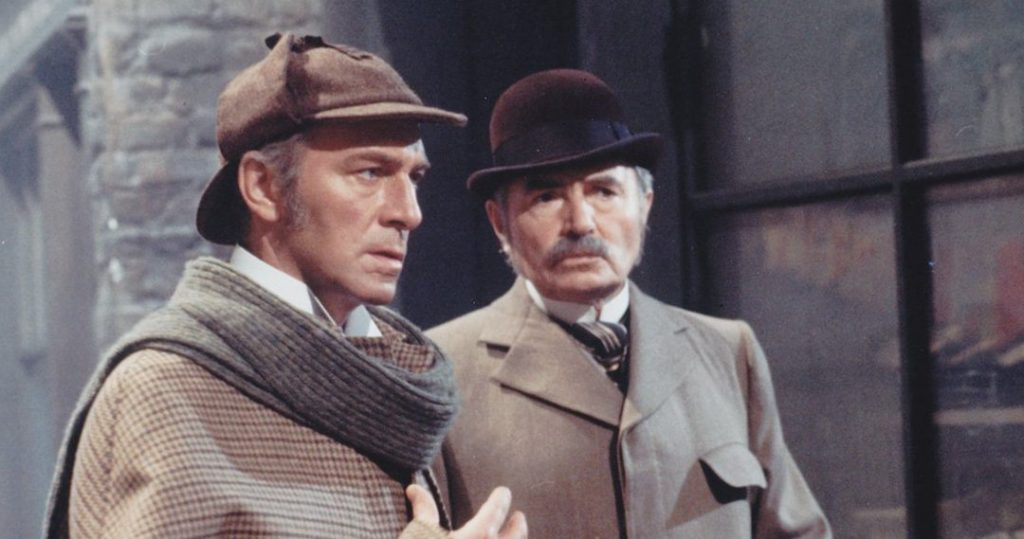 Christopher Plummer and James Mason in Murder By Decree