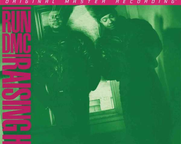 Run-DMC RAISING HELL Album Mobile Fidelity
