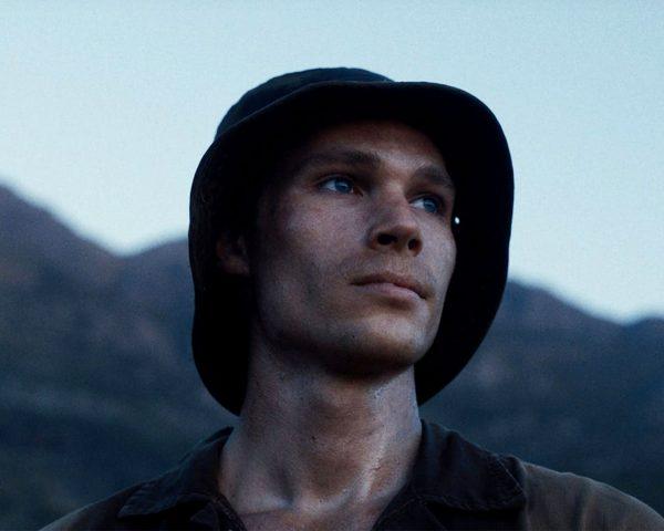 Moffie soldier in a bucket hat