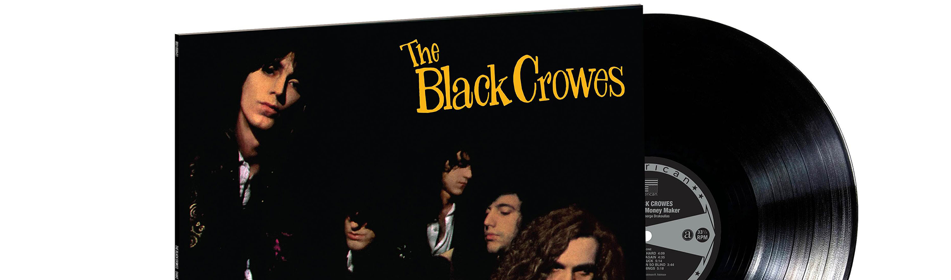 The Black Crowes' Shake Your Money Maker album cover