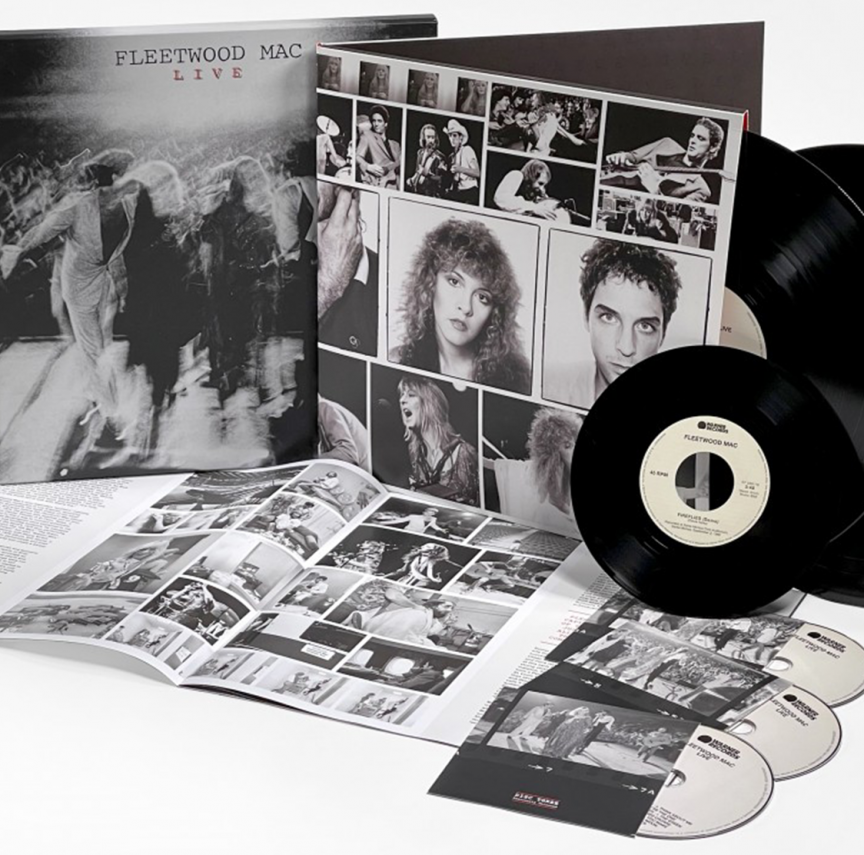 Fleetwood Mac Live Deluxe Edition Box Set