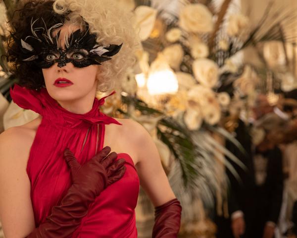 Emma Stone as Cruella in Disney's Cruella