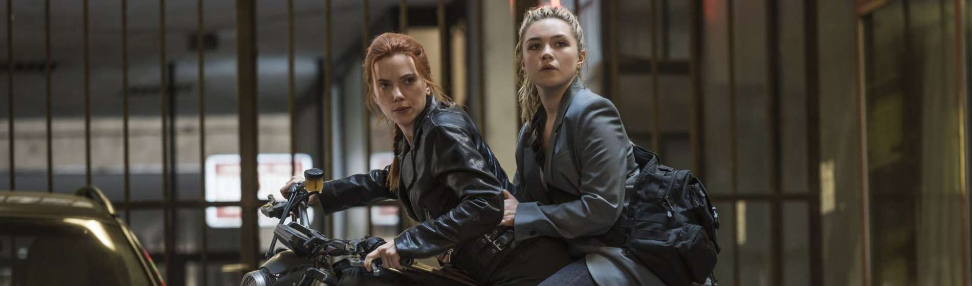 Scarlett Johansson Florence Pugh Black Widow movie
