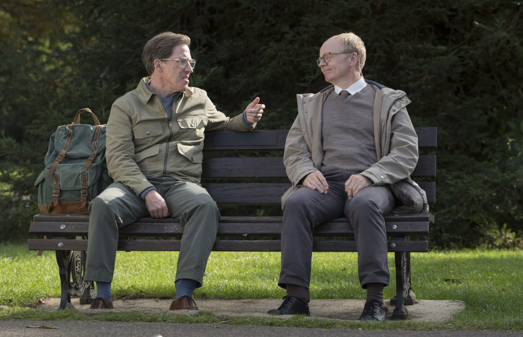 Rob Brydon and Jason Watkins in McDonald and Dodds