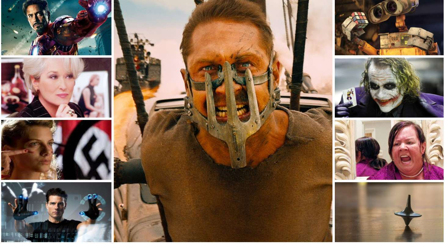 Best Summer Blockbusters collage