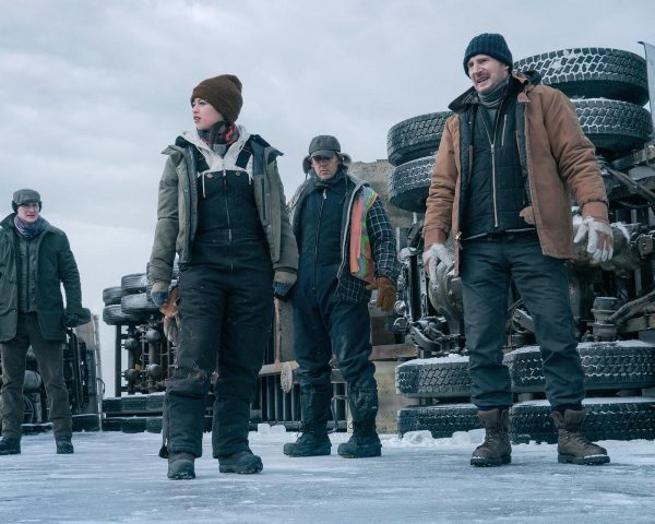 Liam Neeson The Ice Road movie review