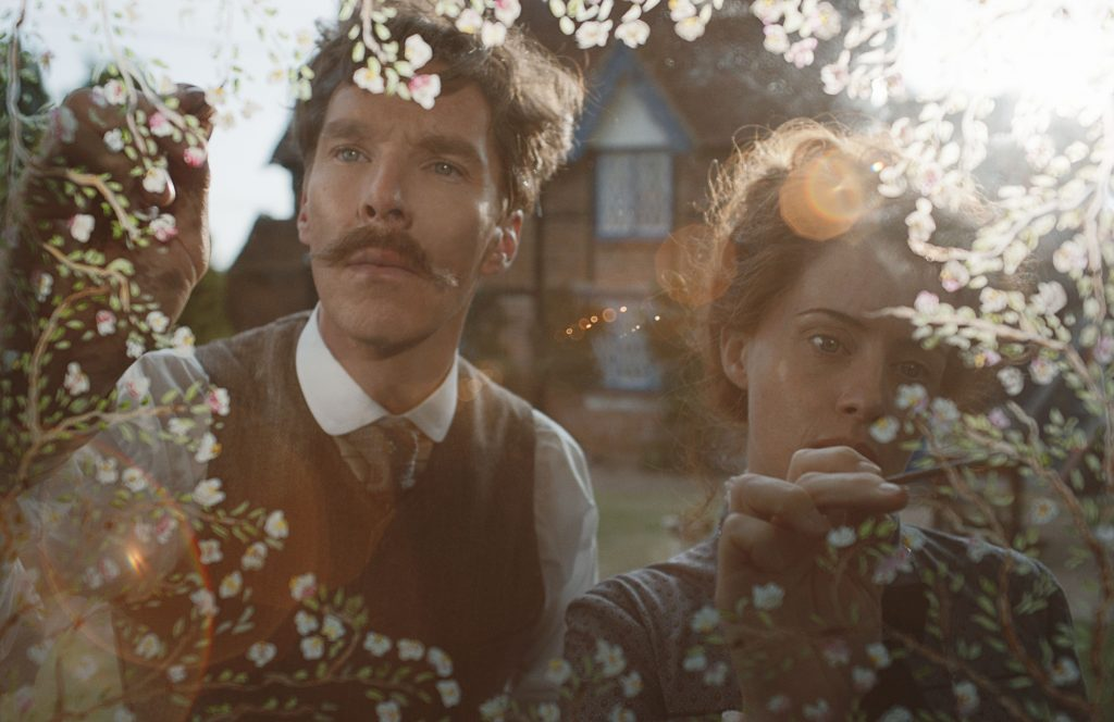 Benedict Cumberbatch and Claire Foy in The Electrical Life of Louis Wain