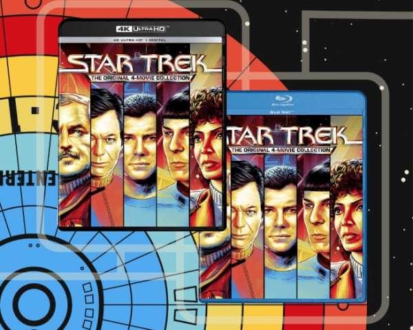 Star Trek 4K Collection Featured