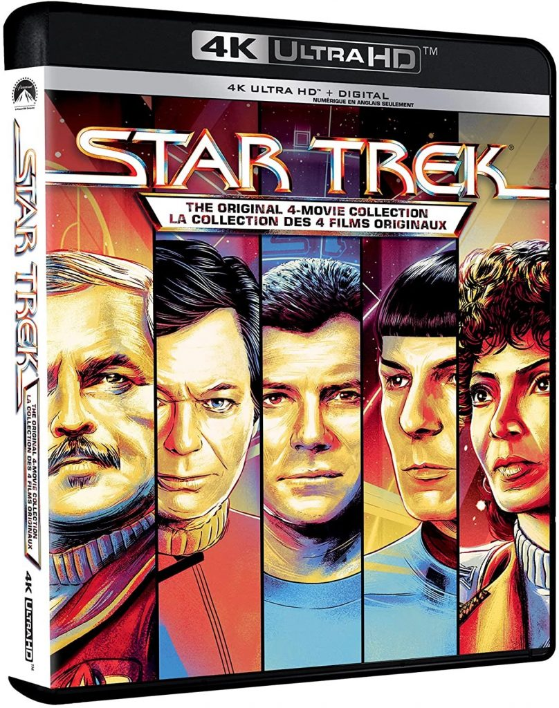 Star Trek: The Original 4 Movies Collection 4K