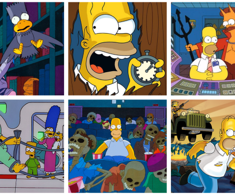 The Simpsons' Treehouse of Horror Top 10