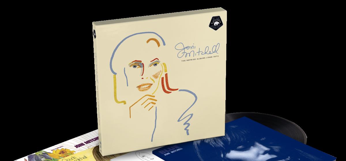 Joni Mitchell Reprise Albums Box Set