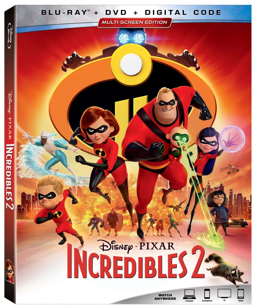 That Shelf Contest - Incredibles 2 Blu-ray Giveaway